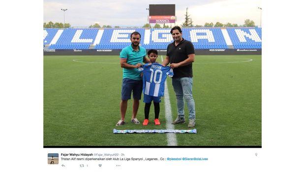 Trsitan Alif pernah menjalani trial di beberapa akademi klub Eropa.