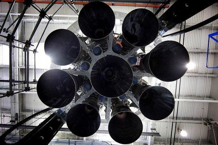 Ilustrasi bagian dari roket Falcon 9 (Foto: Space X)