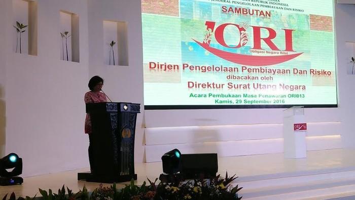 Peluncuran Obligasi Ritel Indonesia (ORI)