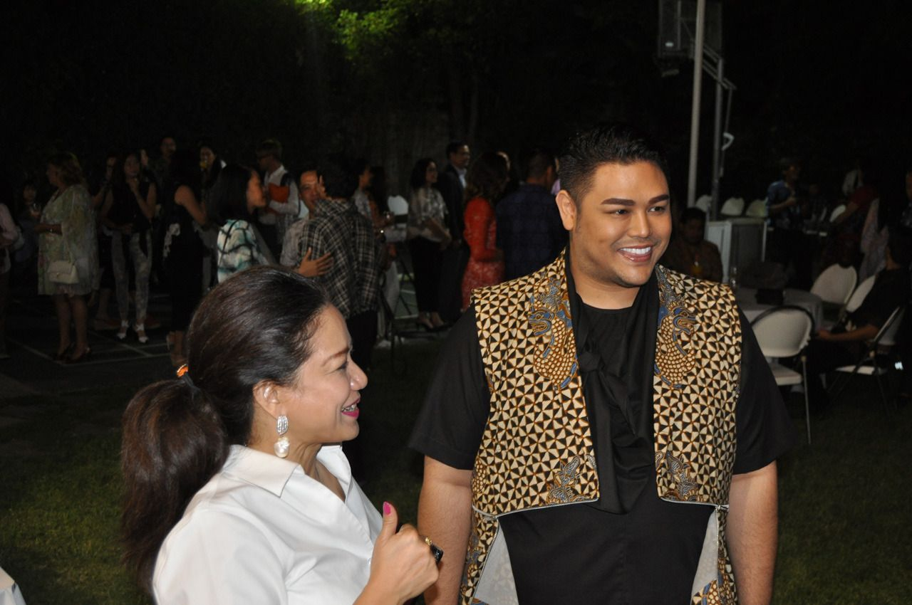 Foto: Ivan Gunawan di Los Angeles Fashion Week (dok KJRI LA)