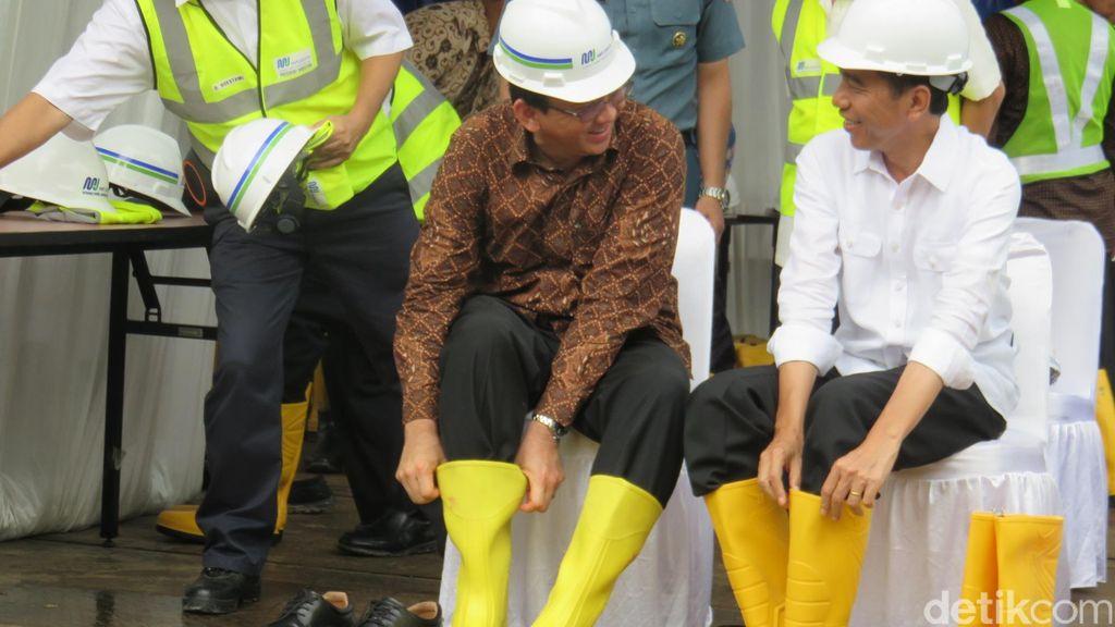 Momen-momen Persahabatan Kental Jokowi-Ahok