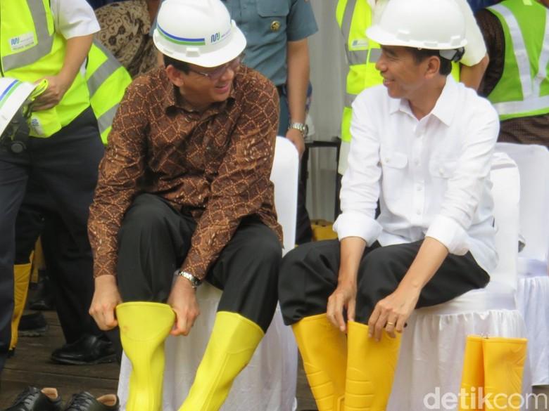 Jokowi-Maruf Menang Pilpres Versi Quick Count, Ahok Ucapkan Selamat