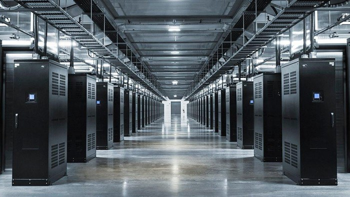 Ilustrasi data center. Foto: Facebook