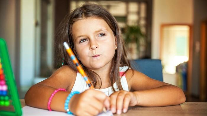 Jelang ujian sekolah, anak bisa stres (Foto: thinkstock)
