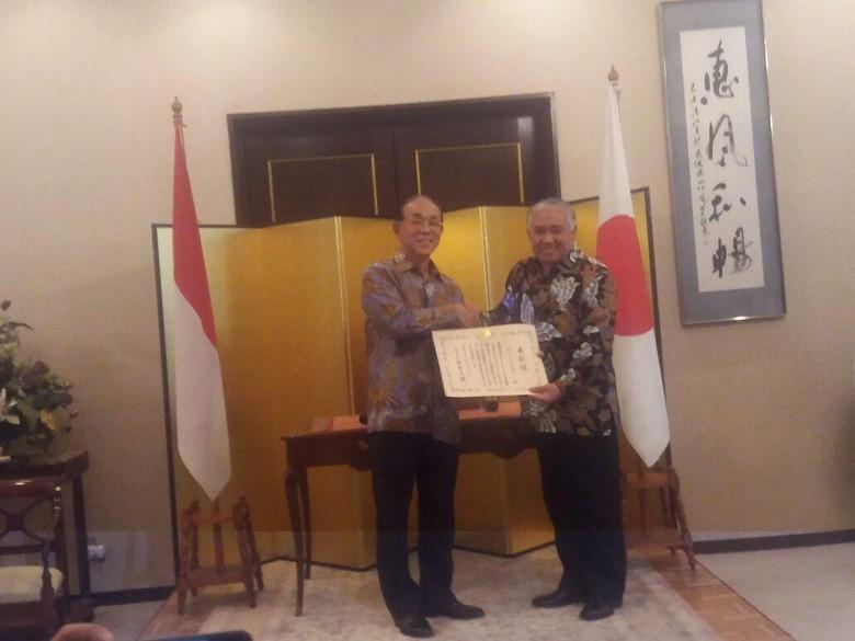 Din Syamsuddin Terima Penghargaan dari Kemlu Jepang