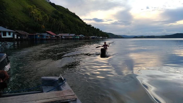 Danau Sentani. Foto: finoyk/detikcom