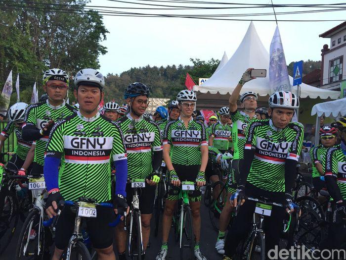 Ketua PB ISSI, Raja Sapta Oktohari, di GFNY Lombok.
