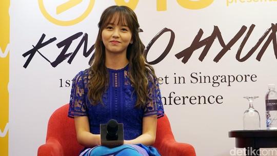 Kim So Hyun, Si Hantu Cantik di  Bring it On Ghost