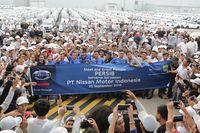 Pabrik Nissan-Datsun di Purwakarta