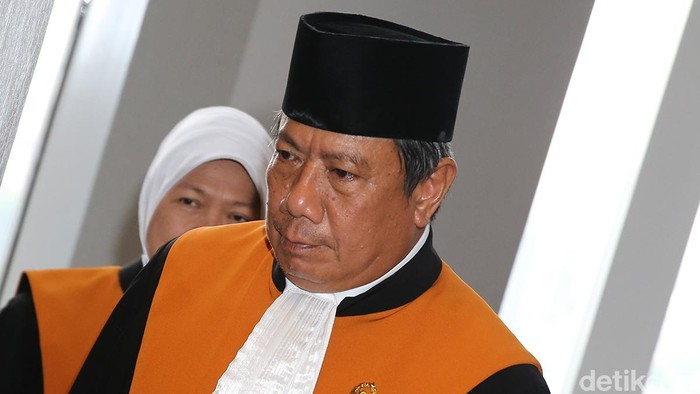 Hakim agung Suhadi (ari/detikcom)