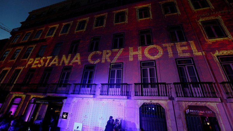 View shows Pestana CR7 Lisboa Hotel, on its official inauguration day, in Lisbon, Portugal, October 2, 2016. REUTERS/Pedro Nunes EDITORIAL USE ONLY. NO RESALES. NO ARCHIVE.