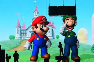 Mario Bros Pensiun Jadi Tukang Ledeng
