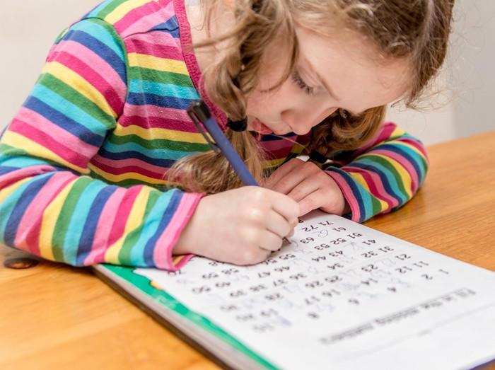 Anak dan soal-soal matematika