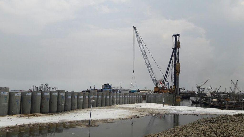 Pembangunan Tanggul Anti Banjir Rob di Cilincing Telan Biaya Rp 405 Miliar