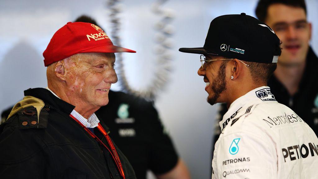 Lewis Hamilton Akan Sangat Merindukan Niki Lauda