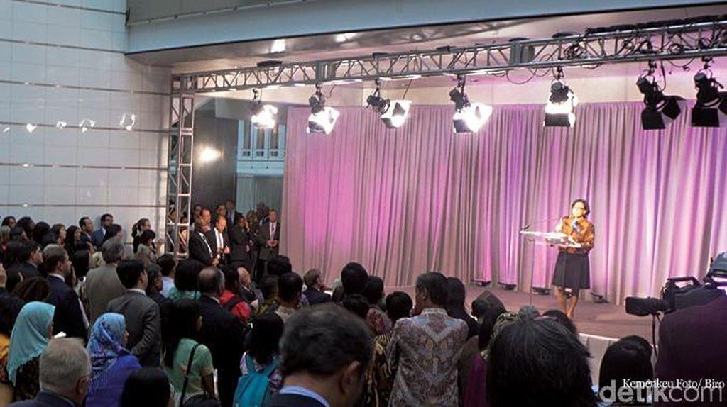 Ada Isak Tangis dan Tawa di Acara Perpisahan Sri Mulyani di Bank Dunia