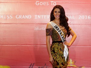 Ariska Putri Siap Ikuti Miss Grand International 2016