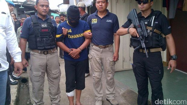 Polisi Tangkap Anton Pemimpin Padepokan Satrio Aji