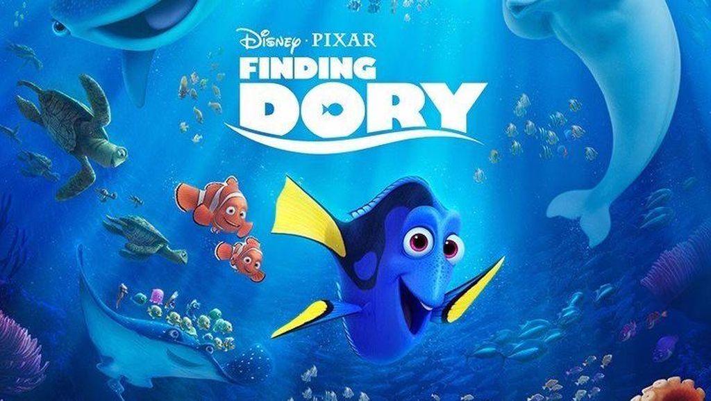 Finding Dory, Kisah Ikan Amnesia yang Mencari Orang Tuanya