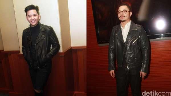 Rangga SM*SH dan Derby Romero Bergaya dengan Biker Jacket