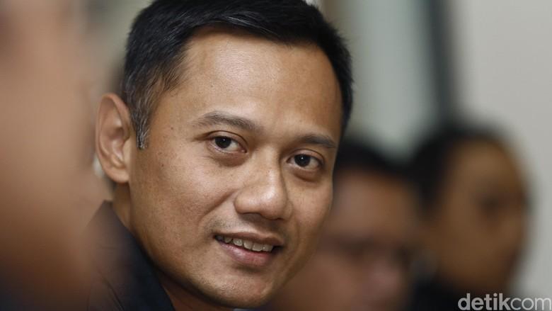 Agus Harimurti Yudhoyono bicara soal pariwisata (Dikhy Sasra/detikFoto)