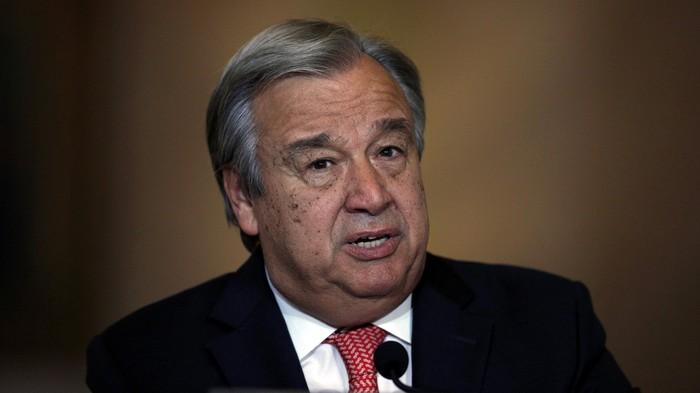 Sekjen PBB Antonio Guterres (REUTERS/Rafael Marchante)