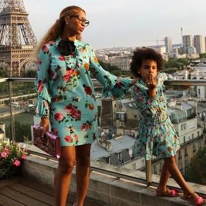 Cute! Beyonce dan Blue Ivy Kedapatan Belanja Paskah di Supermarket