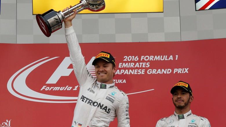 Mercedes Pastikan Gelar Juara Dunia Konstruktor