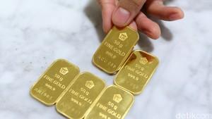 Harga Emas Antam Dijual Rp 613.000 per Gram