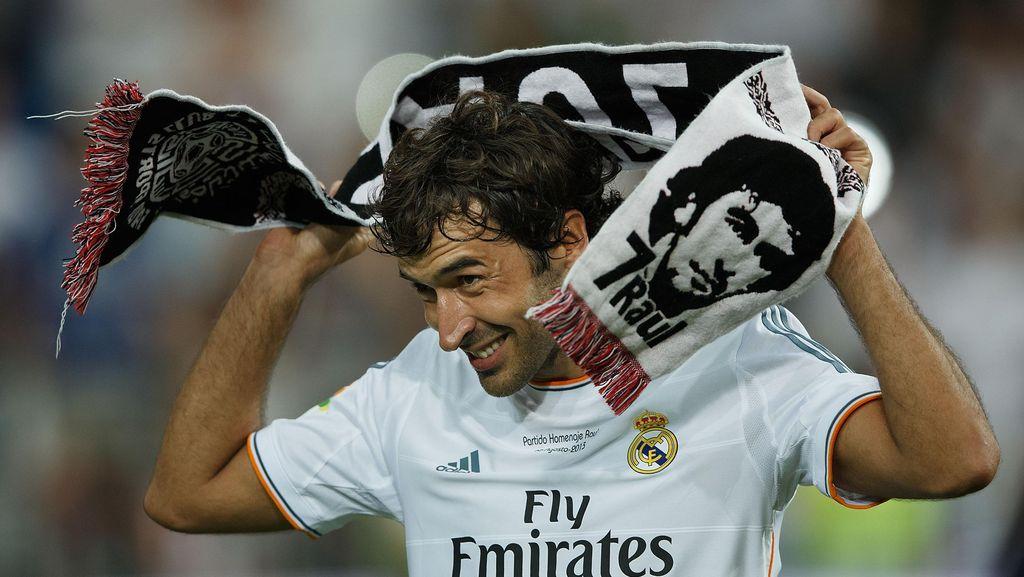 Raul Gonzalez Resmi Latih Real Madrid Castilla