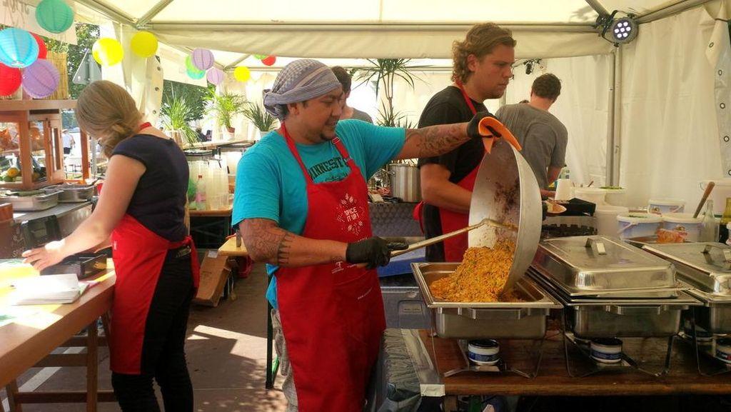 Nasi Goreng Gerobak Indonesia Berkeliling Sampai ke Jerman