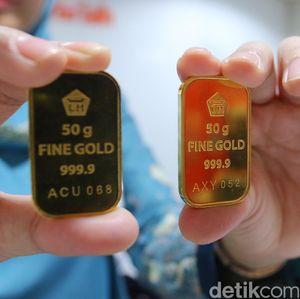 Harga Emas Antam Turun Rp 4.000