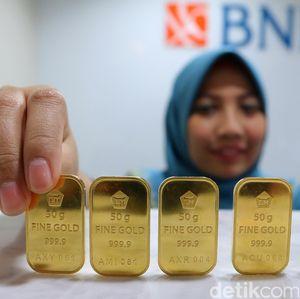 Harga Emas Antam Hari Ini Rp 658.000/Gram