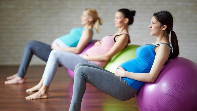 Ilustrasi ibu hamil olahraga/ Foto: thinkstock