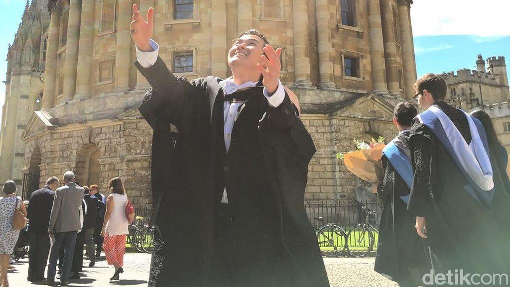 Kata Samuel Putra Soal Rahasia Kuliah di Oxford, Kampus Nomor 1 Dunia