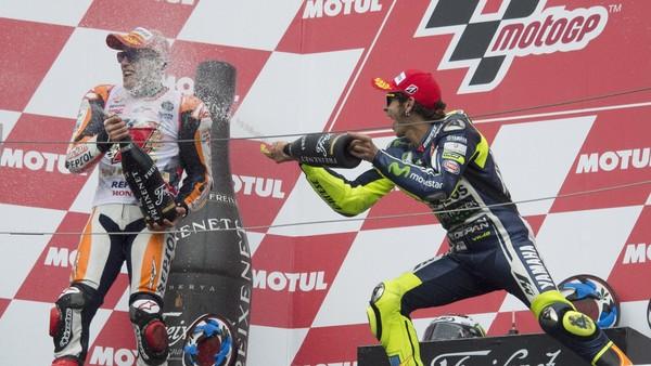 Mereka yang Jadi Juara Dunia di Motegi: Stoner, Rossi, dan Marquez