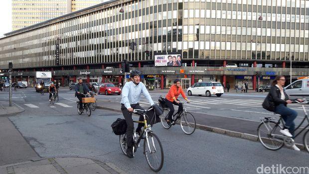Kota Kopenhagen yang ramah pada pesepeda