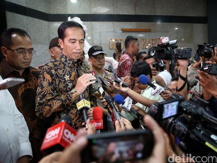 Presiden Jokowi (Foto: Ari Saputra/detikcom)