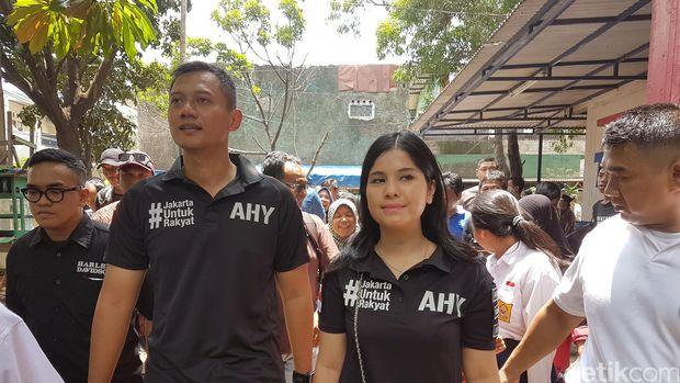 Agus Yudhoyono dan Annisa Pohan (Foto: Yudhistira Amran Saleh/detikcom)