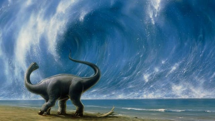 Ilustrasu dinosaurus. Foto: BBC Magazine