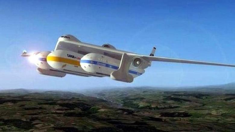 Teknologi kereta yang terintegrasi dengan pesawat (AFP)