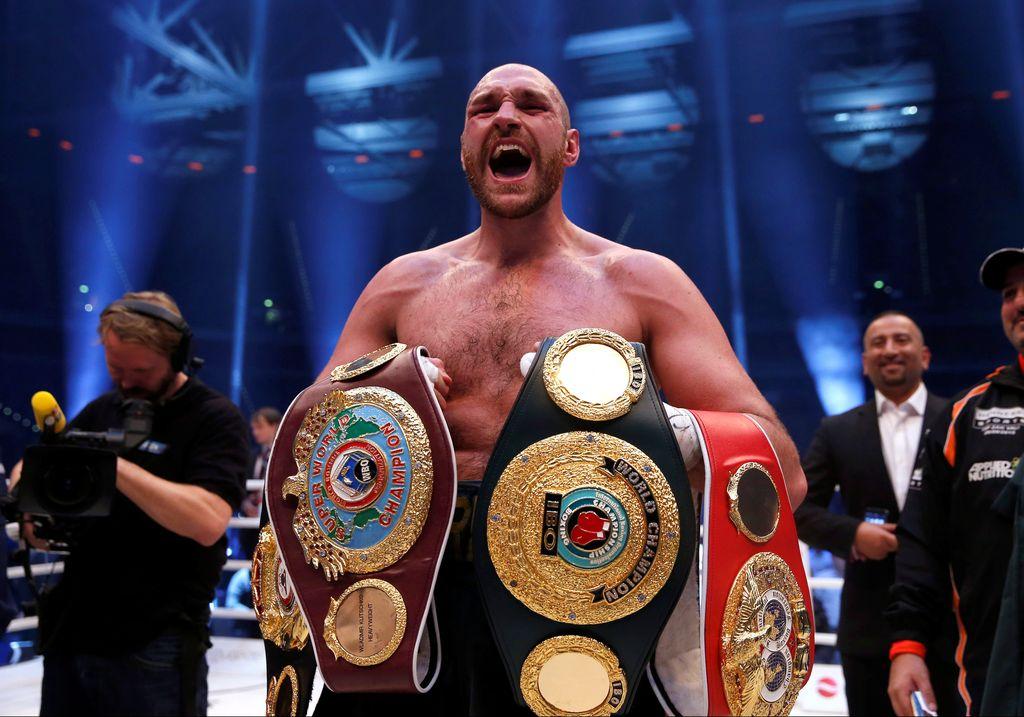Tyson Fury, juara tinju kelas berat dari Inggris