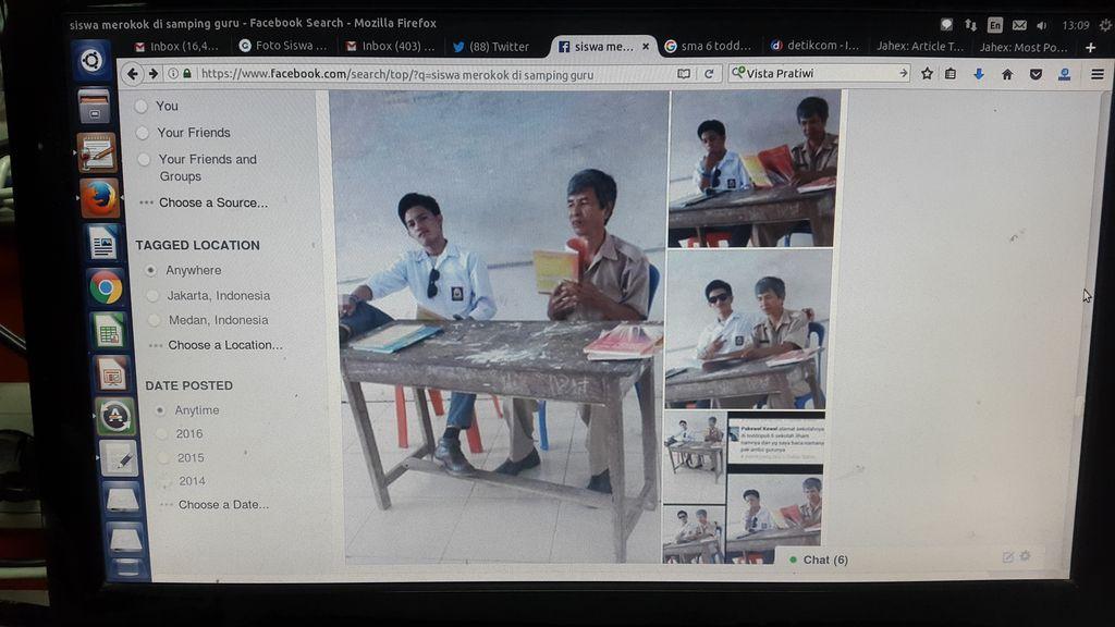 KPAI Telusuri Foto Viral Murid Merokok dan Angkat Kaki di Samping Guru