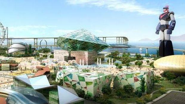 Taman rekreasi futuristik di Korsel