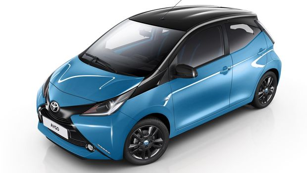Toyota Aygo untuk Eropa