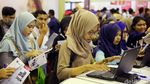 Indonesia Career Expo Dipadati Pencari Kerja