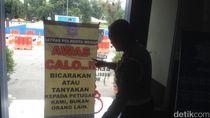 2 Calo Tiket di Bandara Wamena Diciduk