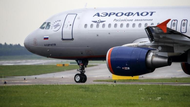 Foto: Ilustrasi maskapai Aeroflot (Reuters)