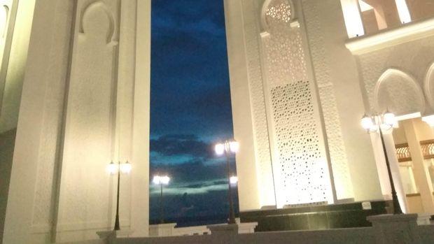 Masjid Oesman Al-Khair di Kalbar