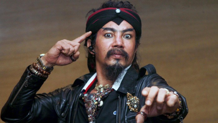 Limbad saat ditemui di kawasan Kebon Jeruk, Jakarta Barat